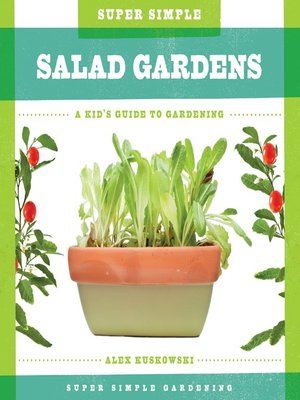 cover image of Super Simple Salad Gardens